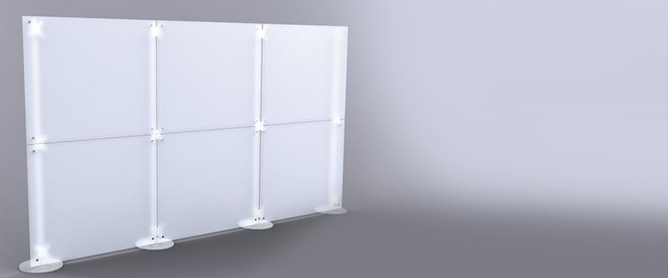pareti divisorie pannelli divisori plexi