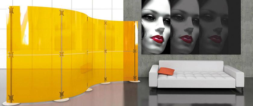 pareti divisorie pannelli divisori componibili