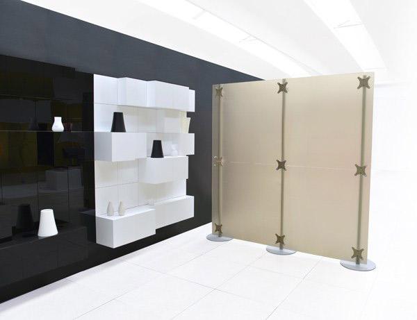 Arredo uffici con pareti divisorie pannelli componibili for Arredi per pareti