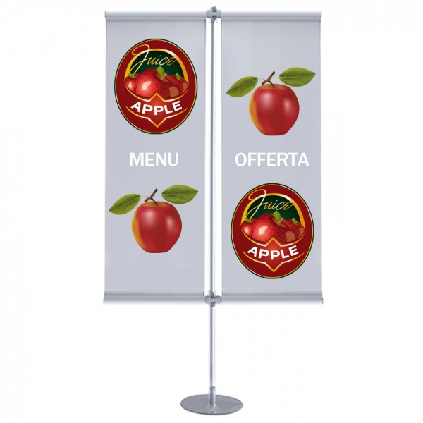 Espositore Porta banner in PVC