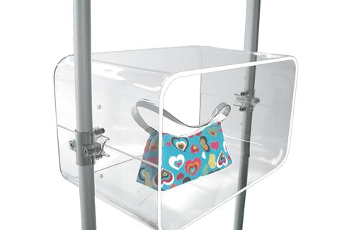 vetrina per arredamento stand