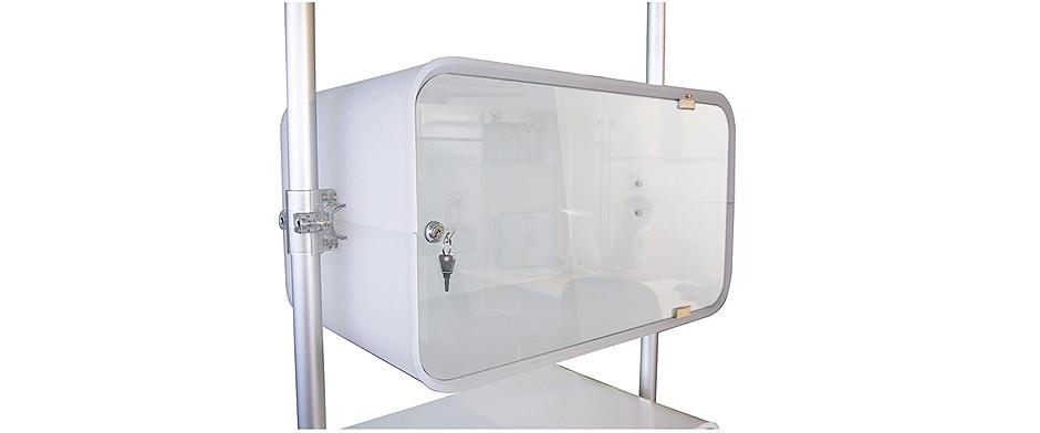 vetrina plexiglass
