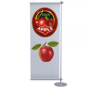 piantana porta banner PVC