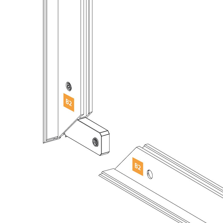 profili alluminio stand modulari
