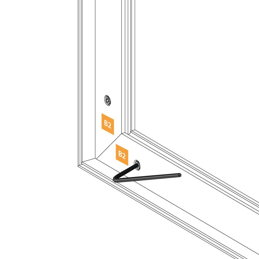 Chiusura con chiave a brugola