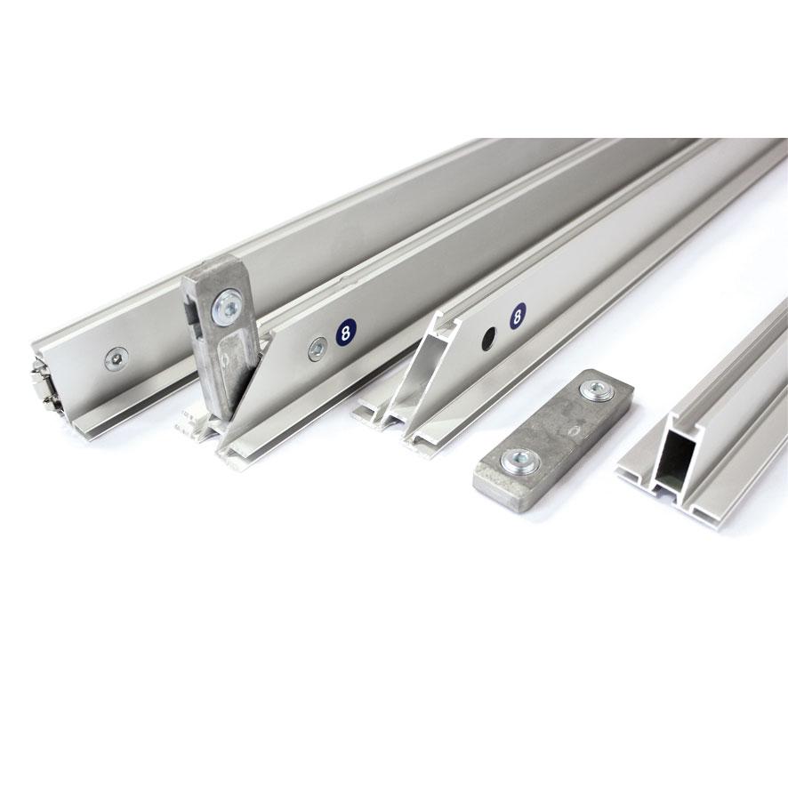profili in alluminio per pannelli modulari stand