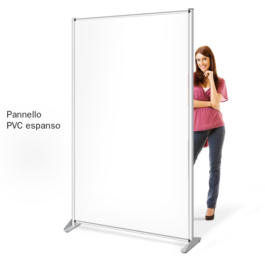 Pannelli divisori PVC