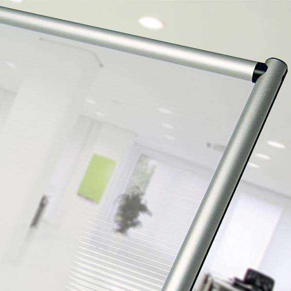 pannello divisorio in policarbonato semi trasparente