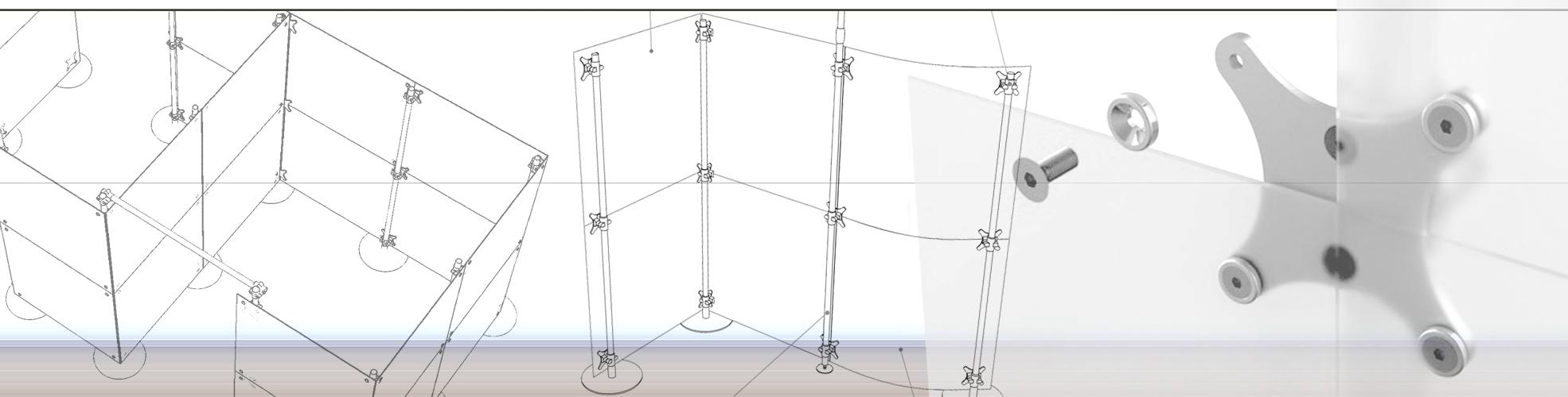 configurazione pareti divisorie