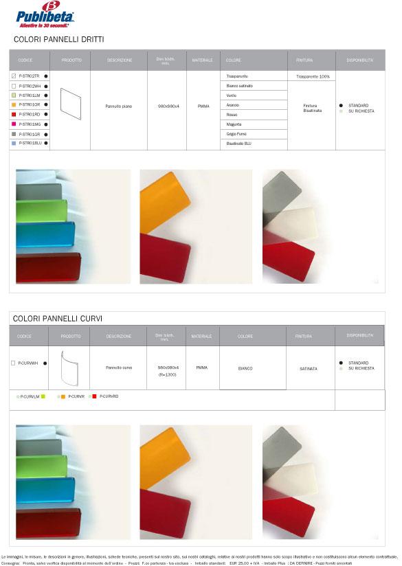 colori pannelli divisori Flostand