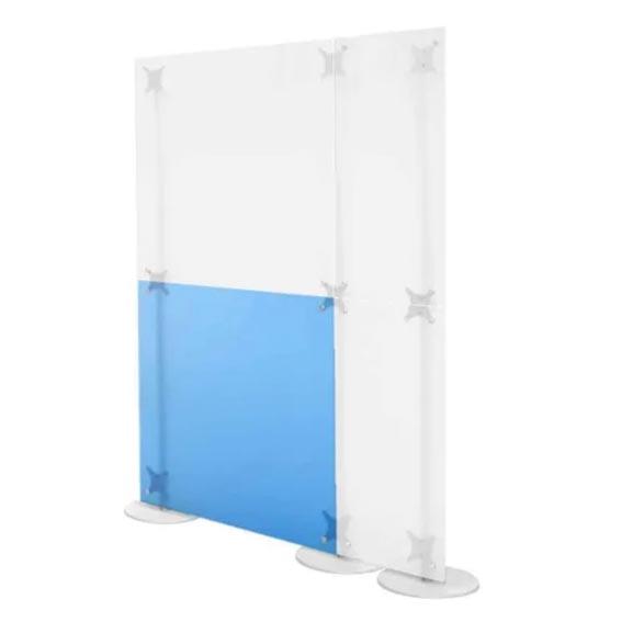 pareti mobili in plexiglass